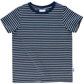 Finkid Supi Camiseta Niños, navy/offwhite
